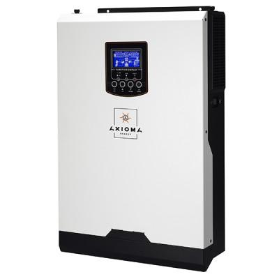 Автономний інвертор для  сонячної електростанції  5 кВт 48 В  AXIOMA ISMPPT BF 5000