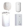 Накопичувальні водонагрівачі, газові колонки, проточні електричні водонагрівачі