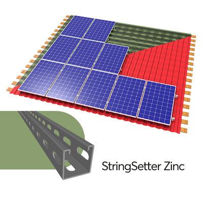 Комплект крепления солнечных батарей для крыши Kripter StringSetter Zinc