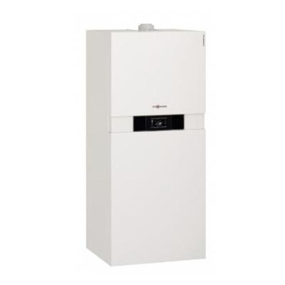 Газовый конденсационный компактный котел на 26 квт Viessmann Vitodens 222 F B2TB015