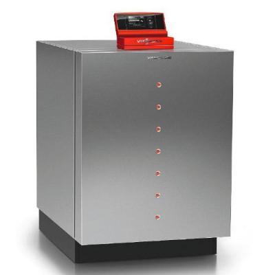 Тепловой насос вода - рассол с буферной емкостью и бивалентным бойлером на 17,2 квт Viessmann Vitocal 300-G   Z015567
