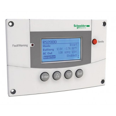 Панель управления для инверторов типа XW+ SW Schneider Electric 865-1050-01