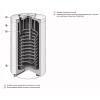Конденсационный настенный газовый котел VITODENS 100-W 35 кВт с бойлером на 100 л
