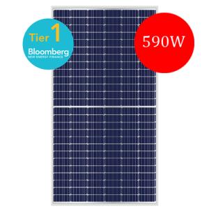 ABi-Solar AB590-78MHC Half-cell PERC Mono