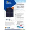 Солнечная панель Risen RSM120-8-590ВМDG Моno PERC Half-Cell Bifacial