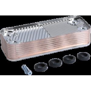 Теплообменник вторичного контура газового котла Viessmann Vitopend 100-W тип WH1B на 30 кВт