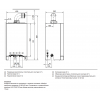 Газовый котел Viessmann Vitodens 050-W конденсационный двухконтурный 24 кВт