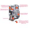 Газовый котел Viessmann Vitodens 111-W конденсационный двухконтурный 19 кВт с баком на 46 л