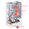 Газовый котел Viessmann Vitopend 100-W турбинный двухконтурный 12 кВт