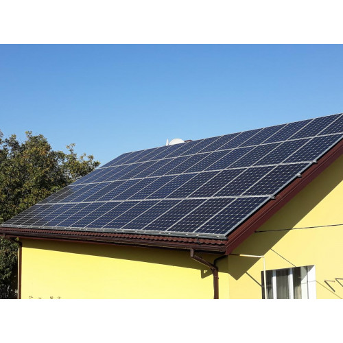 Солнечная электростанция в частном доме