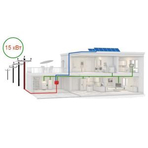 Солнечная электростанция на 15 кВт