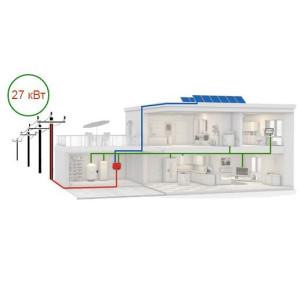 Солнечная электростанция на 27 кВт